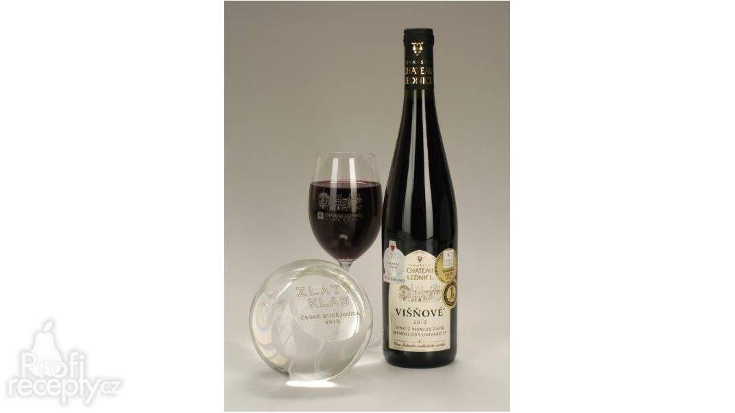 Višňové víno Vinařství Annovino Lednice
