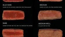 Stupně propečení steaků