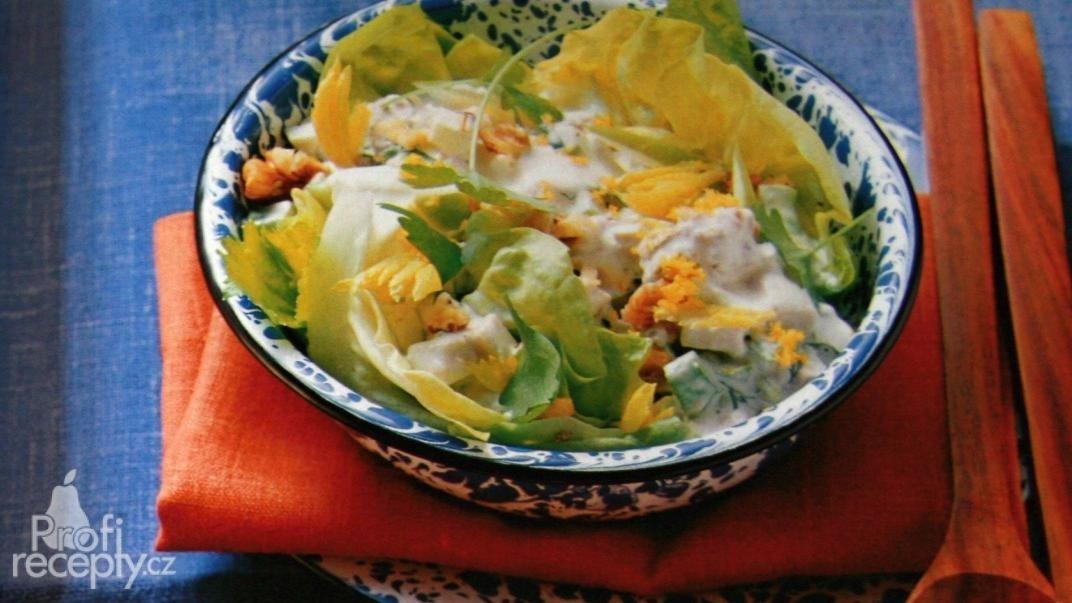 Kuřecí salát s citrónovou majonézou