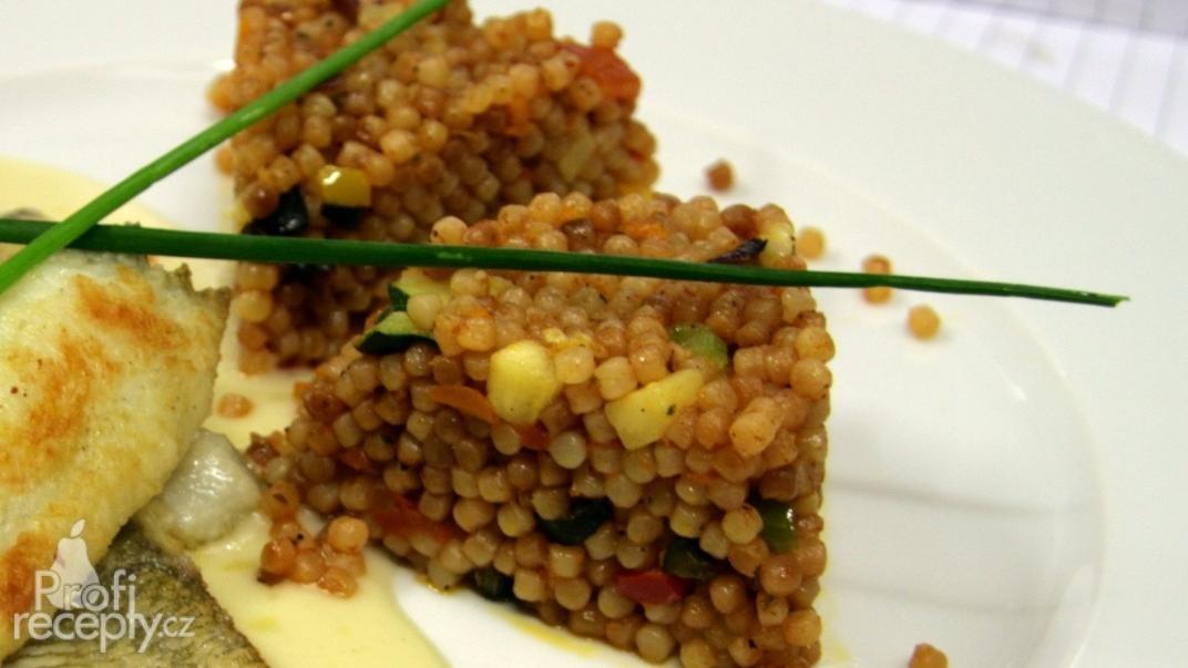 Tarhoňa s provensálskou zeleninou