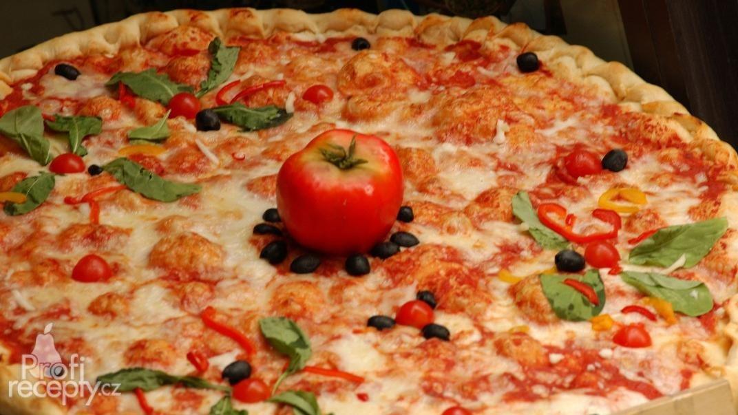 Toskánská pizza Siena