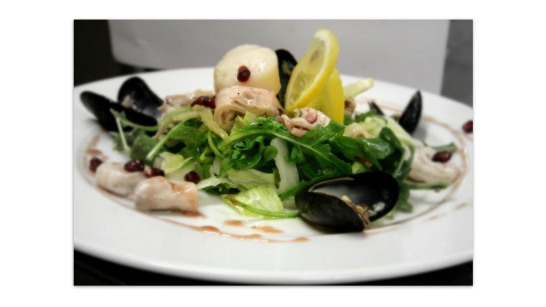 Salát plody moře