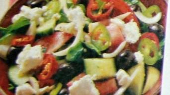 Pastýřský salát pikant