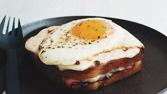 Croque monsieur a Croque madame