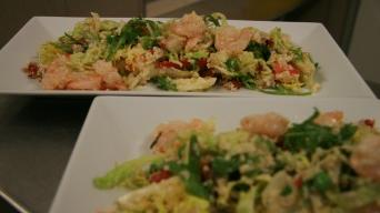 Krevetový salát s kuskusem