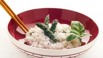 Italské rizoto s chřestem