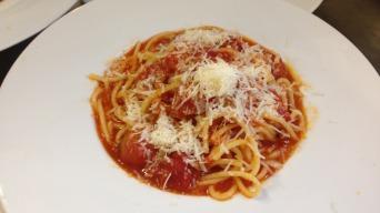 Špagety ala Amatriciana italsky spaghetti