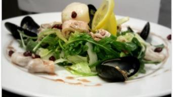 Salát s plody moře