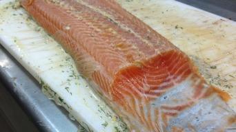 Marinovaný losos A