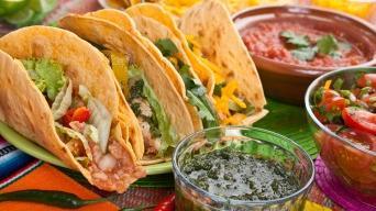 Taco s kuřecím masem