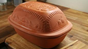 Kuřecí stehýnka v římském hrnci